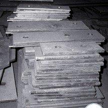 Пластина стальная