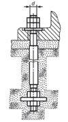 Болт фундаментный тип 2.2